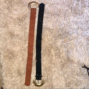 Accessories - Vintage belt 2 piece LOT